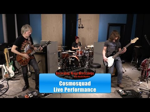 "Cosmosquad - ""Morbid Tango"" live performance!"