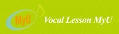 ボーカルレッスンミュウのロゴ