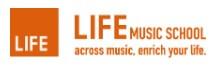 LIFE MUSIC SCHOOLのロゴ